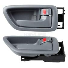 2) Gray Front Rear Right Inside Interior Door Handle For Toyota Sequoia 2001-07