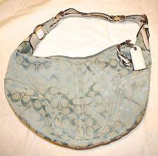 Coach Shoulder Handbag - light blue