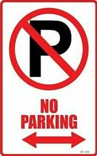 No Parking sign decal sticker