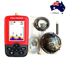 Portable 100m Sonar Sensor Depth Sounder Fishing Fish Finder Alarm Transducer