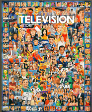 White Mountain Puzzle- Television History- 1000 Pieces