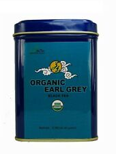 Organic earl grey natural black tea loose leaf tea  3 OZ  in Tea Tin