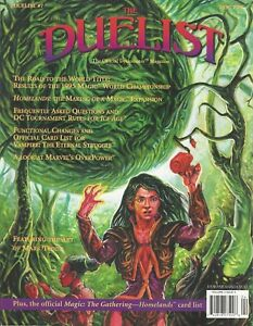 MTG: The Duelist Magazine Issue #7 Homelands, Ice Age, V:TES. Overpower