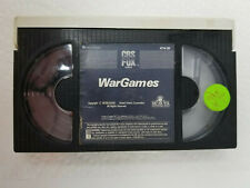 Betamax War Games Movie No Case Former Rental