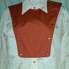 Wrangler Authentic Western Shirt For Females Sz 36 (Looks like M/L) Poly/Cotton