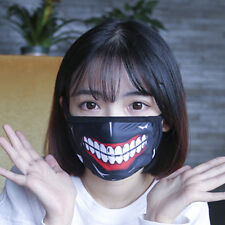 New Japan Anime Tokyo Ghoul Cosplay Masks Unisex Protection Face Mask