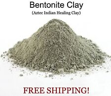 Bentonite Montmorillonite Calcium Aztec Indian Healing Clay Powder 100% Pure