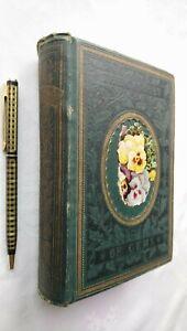 THE CASQUET OF GEMS WILLIAM P NIMMO POETRY ANTIQUE 1ST/1 1877 ILLUSTRATED RARE!!