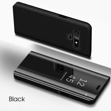 For Samsung Galaxy Note 9 Note9 Shockproof Smart Flip Leather Mirror Stand Case