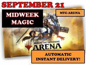 MTG Arena CODE CARD FNM MIDWEEK Magic Promo Pack SEPTEMBER 21 - INSTANT MAIL