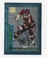 1995 Finest Autographed Hockey Card Leo Sorochan Team Canada