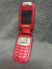 Samsung E570 Handy Gehäuse rot #3 BC SGH-E570 phone case cover housing red