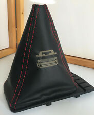 VW Golf MK2 & 3 Leather Gearstick Gaiter with Laser Etched Big Bumper GTI