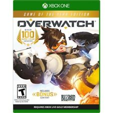 Xbox One Overwatch: Game of the Year Edition Brand New Factory Sealed Xbox 1