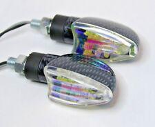 2X LED indicador de señal de Motocicleta vuelta luz De Giro Luz Ajuste Buell XB9 XB12 S1 S2 S