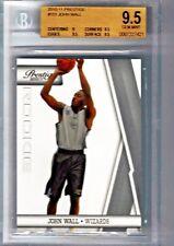 2010-11 prestige #151 JOHN WALL wizards rookie card BGS Gem Mint 9.5