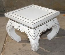 Small Opium Table Plant Stand Handmade with Glass Mosaic Size M