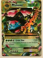 MEGA Venusaur EX ULTRA RARE 2/108 Pokemon Card TCG XY Evolutions HOLO NM