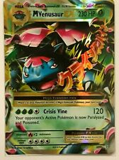 MEGA Venusaur EX ULTRA RARE 2/108 Pokemon Card TCG XY Evolutions HOLO NM