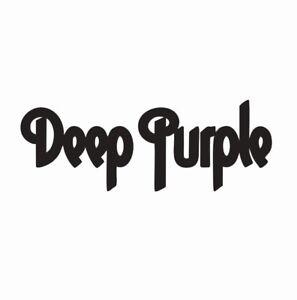 Deep Purple Music Band Vinyl Die Cut Car Decal Sticker - FREE SHIPPING