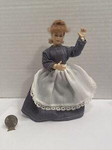 Vintage Retired HEIDI OTT Maiden Ball Jointed Dollhouse Doll Miniature 1:12