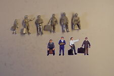 P&D Marsh OO Gauge PW117 People with luggage (6) castings require painting