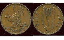 IRLANDE  1 penny 1946    ANM  ( bis )