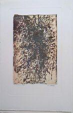 Jean Luc Le Floch gravure série Variation P 854