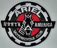 Ariel MC Club North America embroidered sew on cloth patch   (yy)  REDUCED