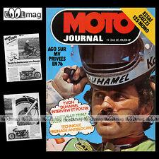 MOTO JOURNAL N°246 NORTON YVON DUHAMEL BULTACO PUR SANG GUZZI 125 MONTESA '75
