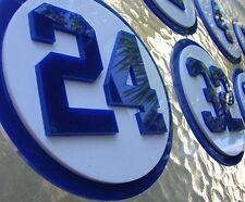 DODGERS 3D art sign Jersey retired SET baseball Park  LA Vin Los Angeles Champs