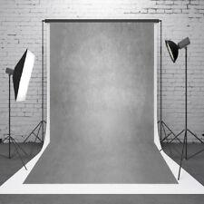 1.5x2.1m Fotostudio Hintergrund Hintergrundstoff Fotohintergrund Zementwand Grau
