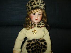 "19"" Antique SFBJ Model #238 Lady Doll"