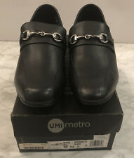 Umi Metro Riverdale III Boys /Youth Black Loafer/ Shoes, Size 6.5, MSRP 99, New
