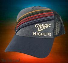 New Miller High Life Trucker Vintage Snapback Cap Hat