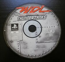 WDL WORLD DESTRUCTION LEAGUE - THUNDER TANKS : JEU Sony PLAYSTATION PS1 (loose)