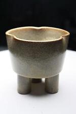 Mid Century Modern Japan Small Studio Bonsai IKEBANA Planter Signed