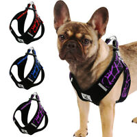Reflective Step In Dog Vest Harness Adjustable for Pet Puppy Jack Russell Pug