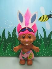 "EASTER BEACH WABBIT / RABBIT / BUNNY - 5"" Russ Troll Doll - NEW IN ORIGINAL BAG"