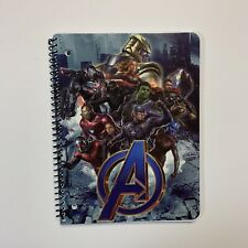 MARVEL AVENGERS INFINITY WAR SPIRAL WIDE RULED 1 Subject NOTEBOOK 70 Pages