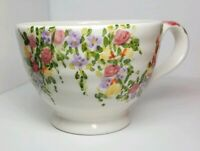 SPRING GARDEN Extra Large Coffee Mug  Bowl Hand Painted Tabletops Unlimited