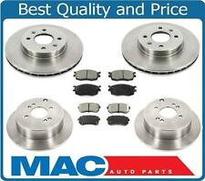 06-11 Accent Rio5 Rio F & R Brake Rotors & Ceramic Brake Pads 432 422 1156 1157