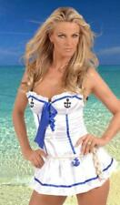 Womens Anchors Away Sailor Fancy Dress Costume Ladies Size 8-12 Hen Party