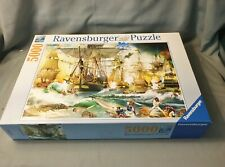 HTF Ravensburger Jigsaw Puzzle 5000 Pieces 13 969 9 Battle of High Seas 2019