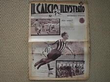 CALCIO ILLUSTRATO 1934 #14 INTER FACCIO ROMA LIVORNO STADIO FERRARIS GENOVA