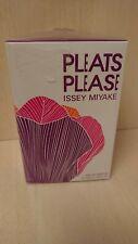 Pleats Please Issey Miyake 100 ml Eau de Parfum Pour Femme Spray Woman EDP
