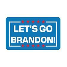 Let's Go Brandon Sticker Car Truck Bumper Vinyl Decal Joe 1 Biden FJB M4L1 L3P1