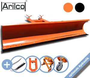 Schneeschieber hydraulisch in 2m / 2,25m für Stapler / Traktor Schneeschild Räum