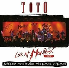 TOTO LIVE AT MONTREUX 1991 CD NEW SEALED AFRICA ROSANNA  I'LL BE OVER YOU