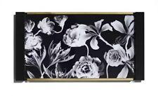 SONIA KASHUK Vanity Set Tray BLACK/WHITE FLORAL